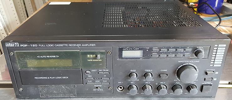 인터엠  pop-120 pa앰프